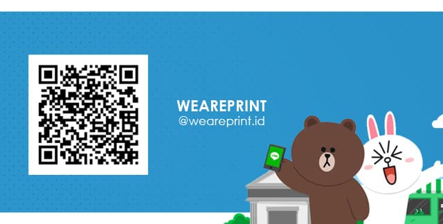 Line@ Weareprint.id