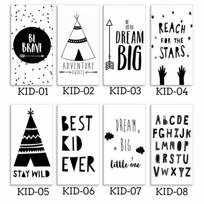 Poster Kamar Anak