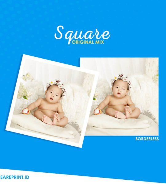 Cetak Foto Square